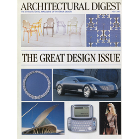 Architectural Digest May 2003