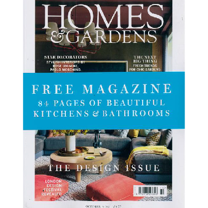 Homes and Gardens UK - October 2019