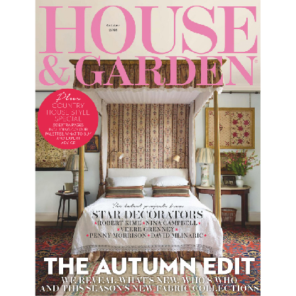 House And Garden October 2018