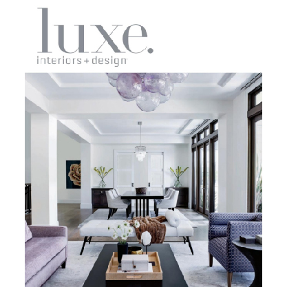 Luxe. Interiors + Design. May - June 2020