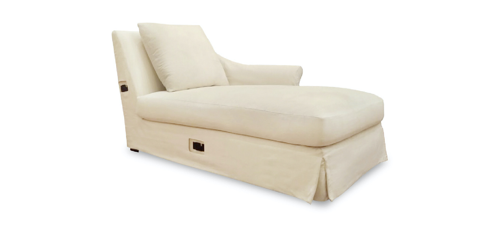 ANTIVES CHAISE LONGUE WITH LEFT ARM