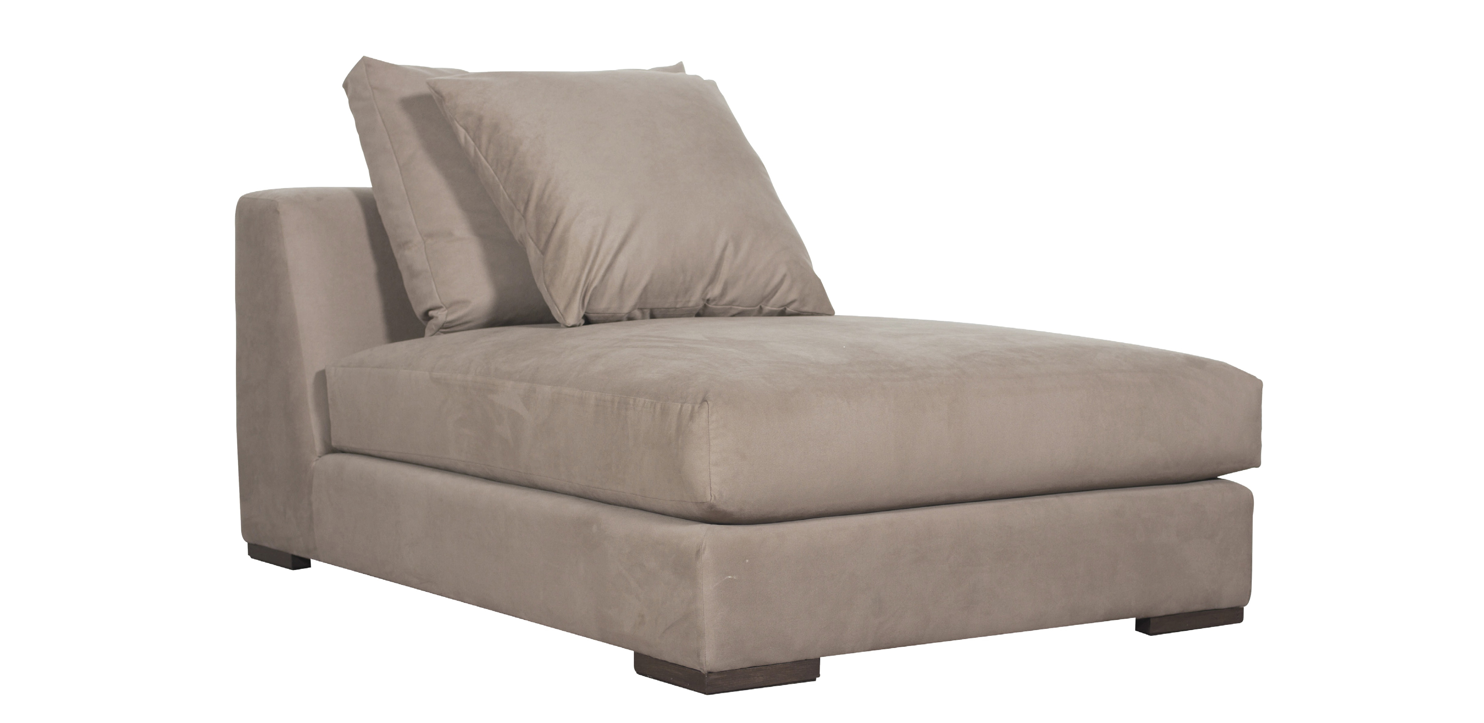 VERONA CHAISE LONGUE WITH NO ARMS