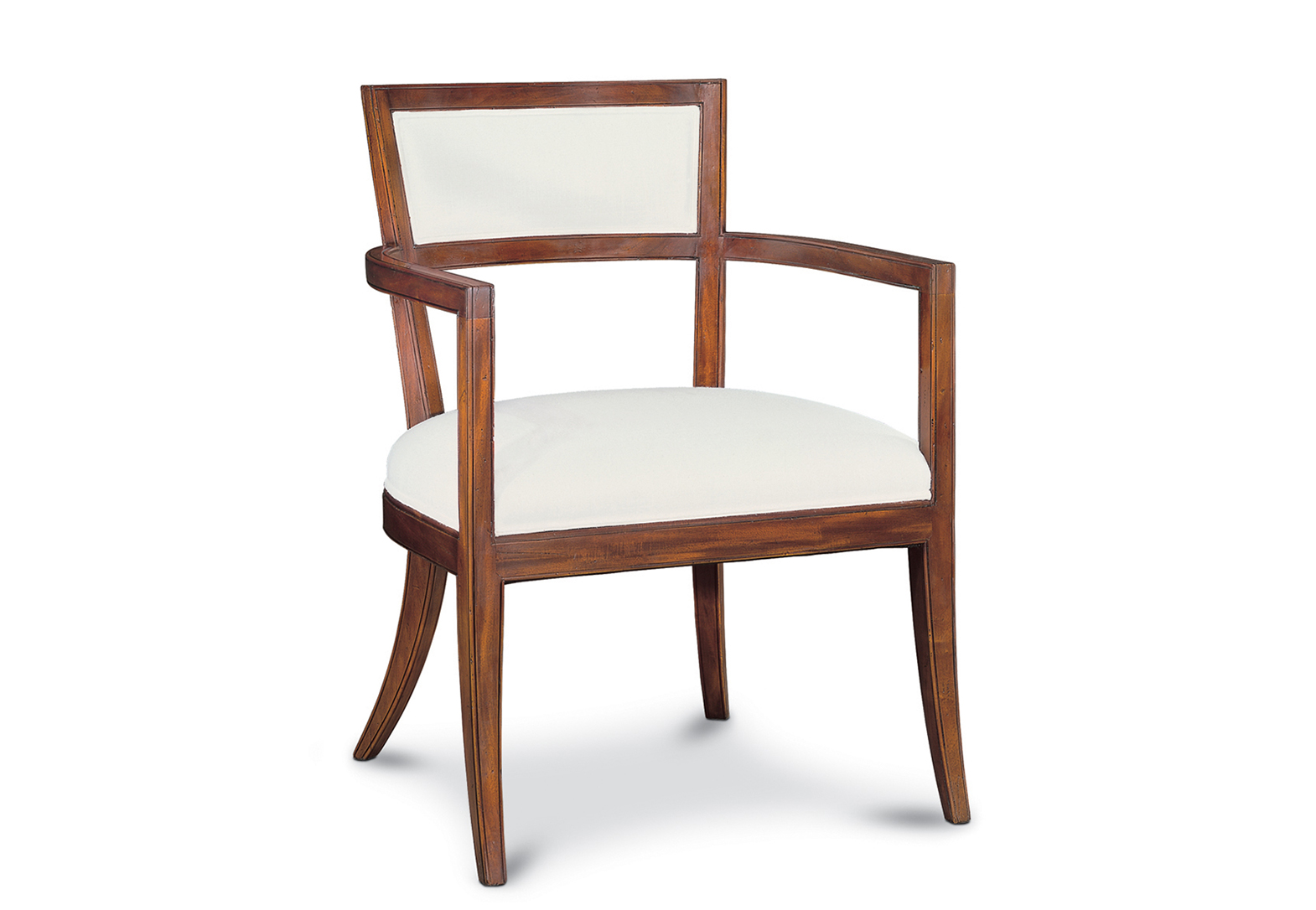 VILLA BORGUESE UPHOLSTERED BACK CHAIR