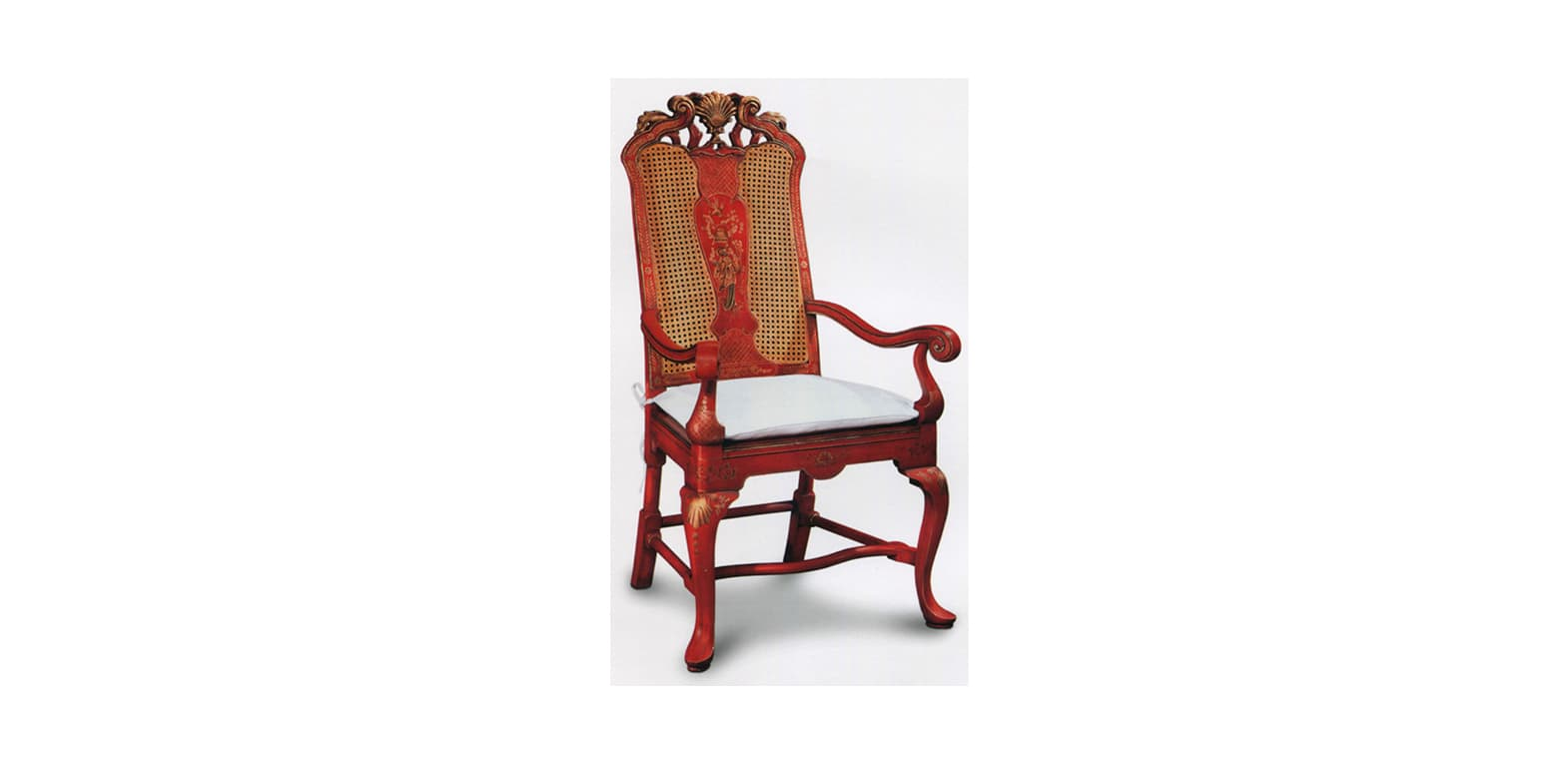 GEORGE II ARM CHAIR