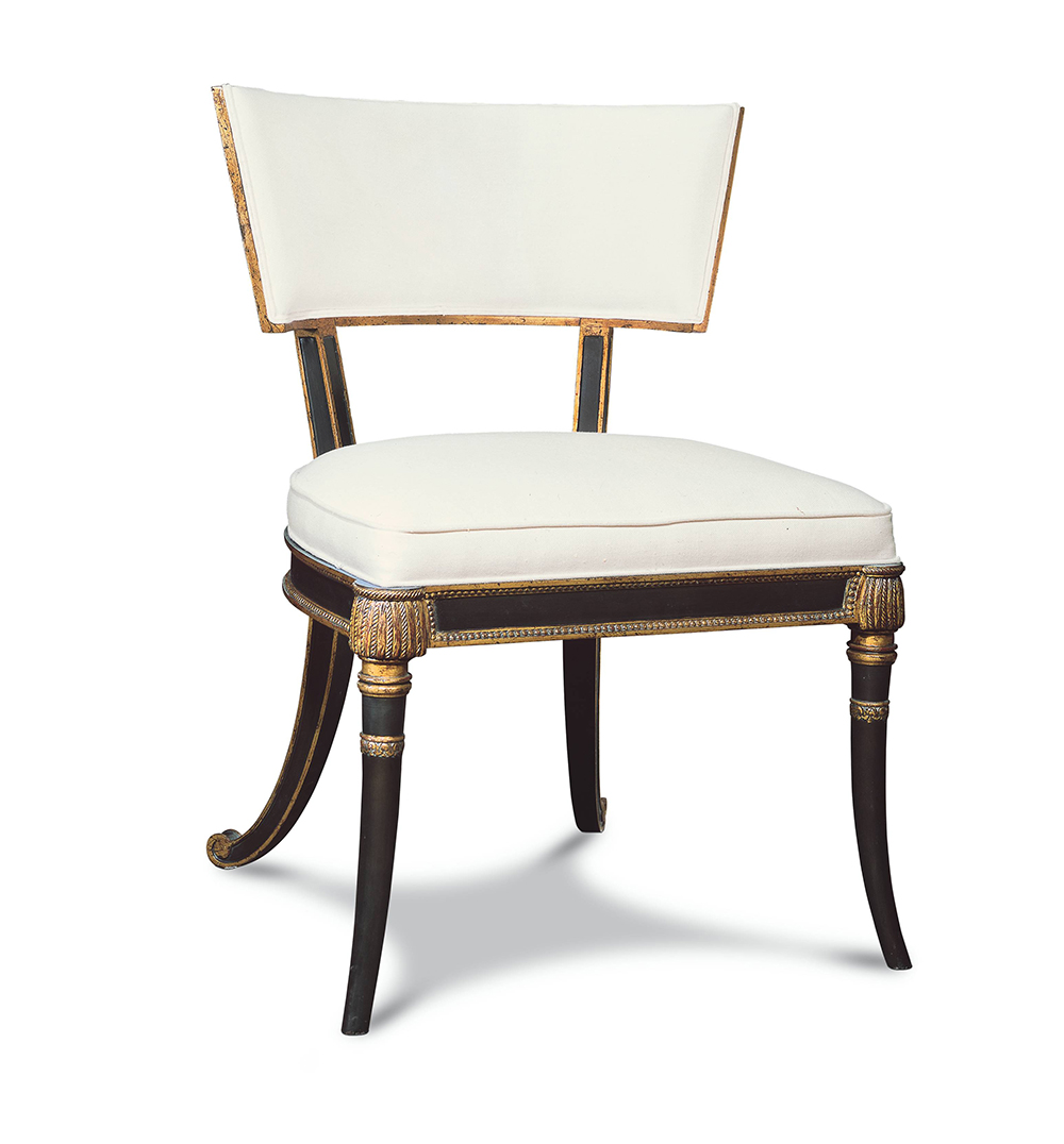 REGENCY KLISMOS II SIDE CHAIR