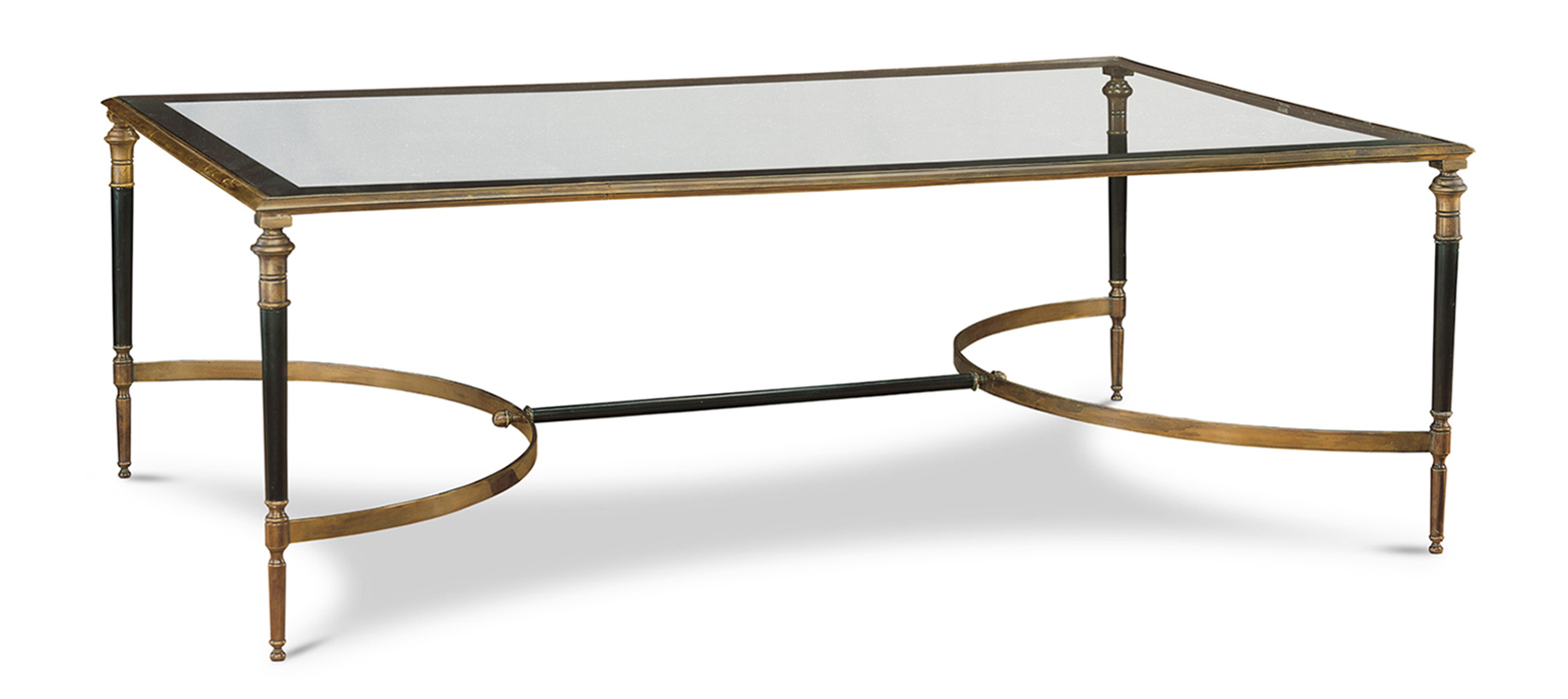 ARBOIS RECTANGULAR COCKTAIL TABLE WITH GLASS TOP
