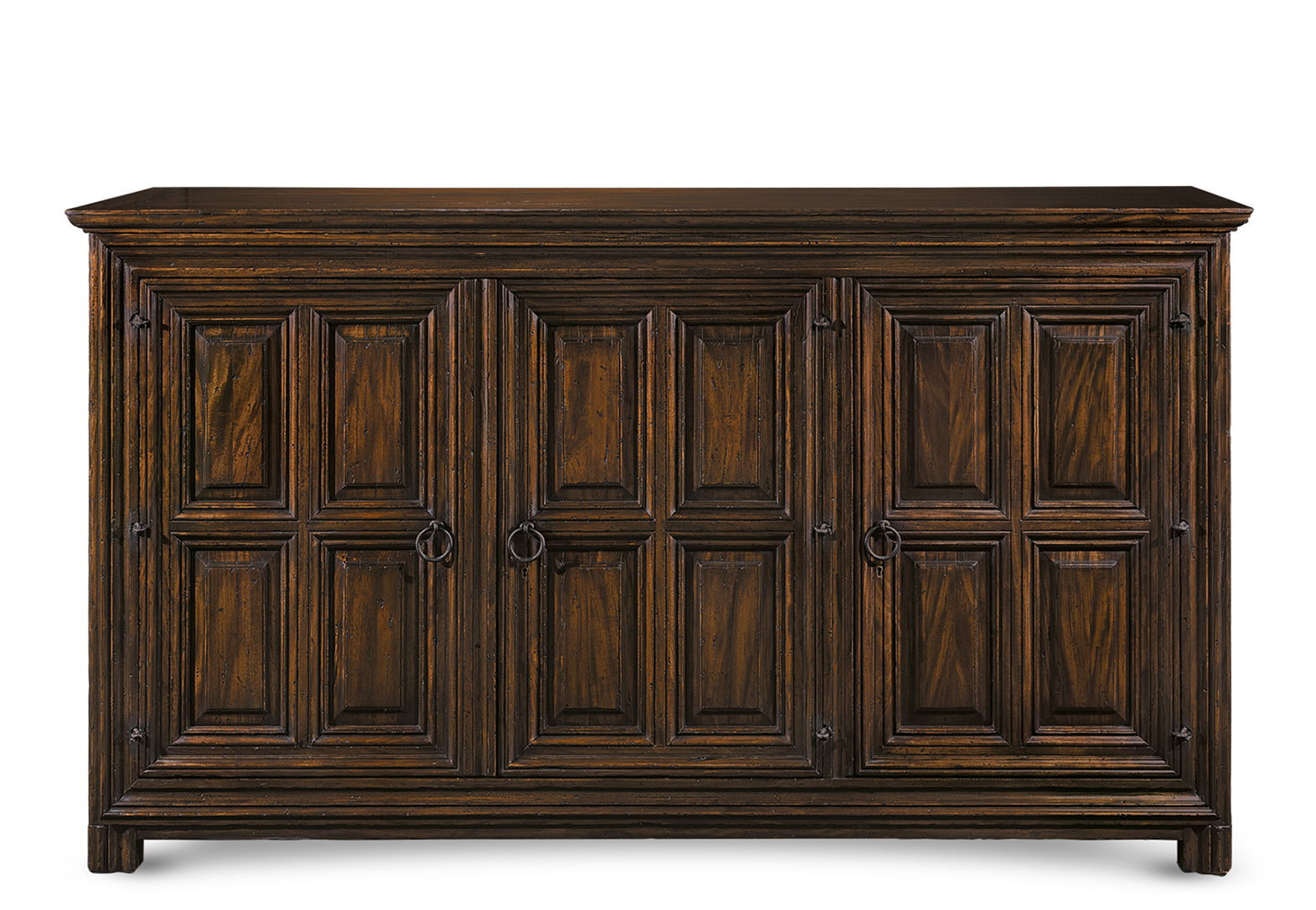 MORELIA SACRISTY CHEST WITH 3 DOORS
