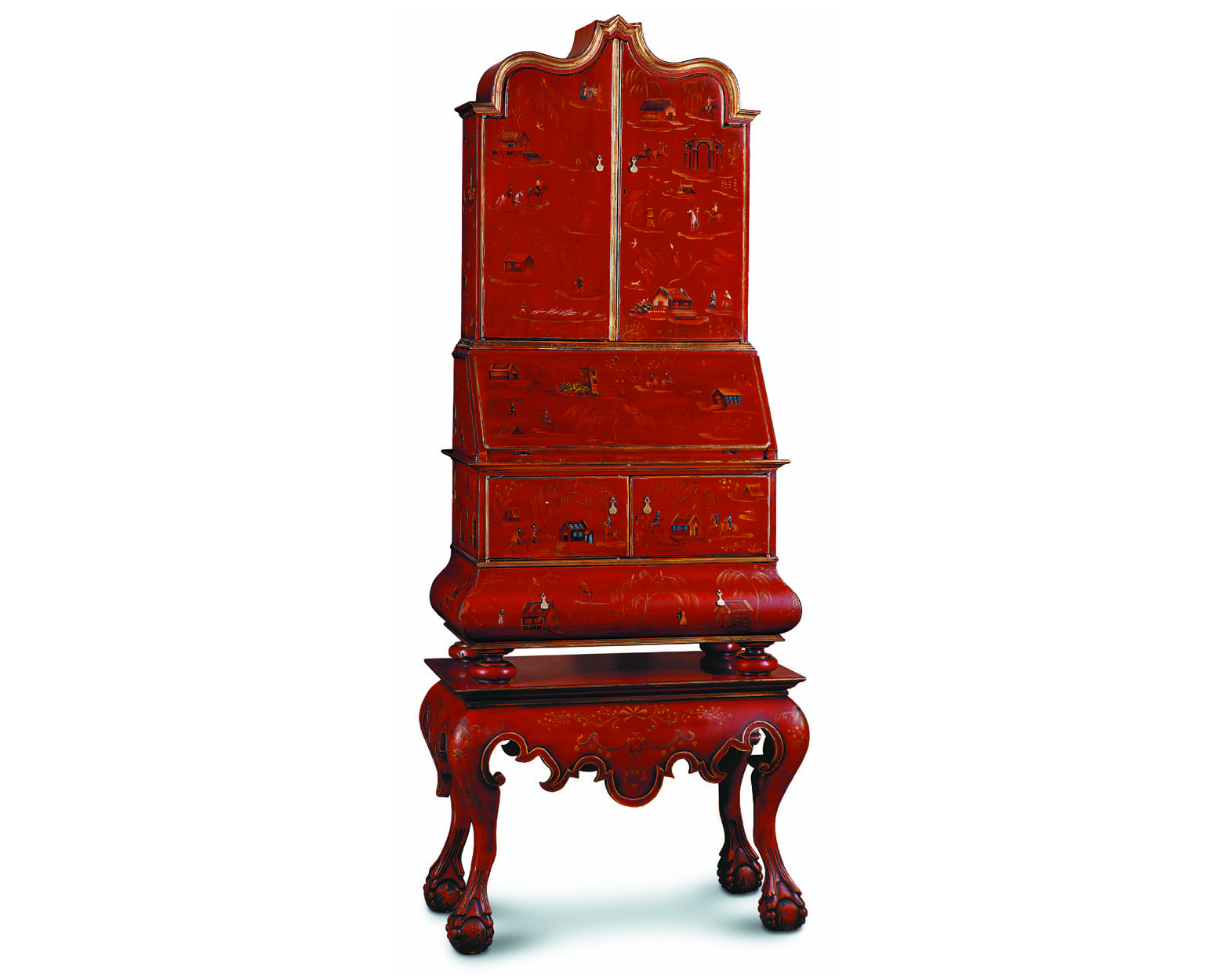 PAINTED SECRETAIRE