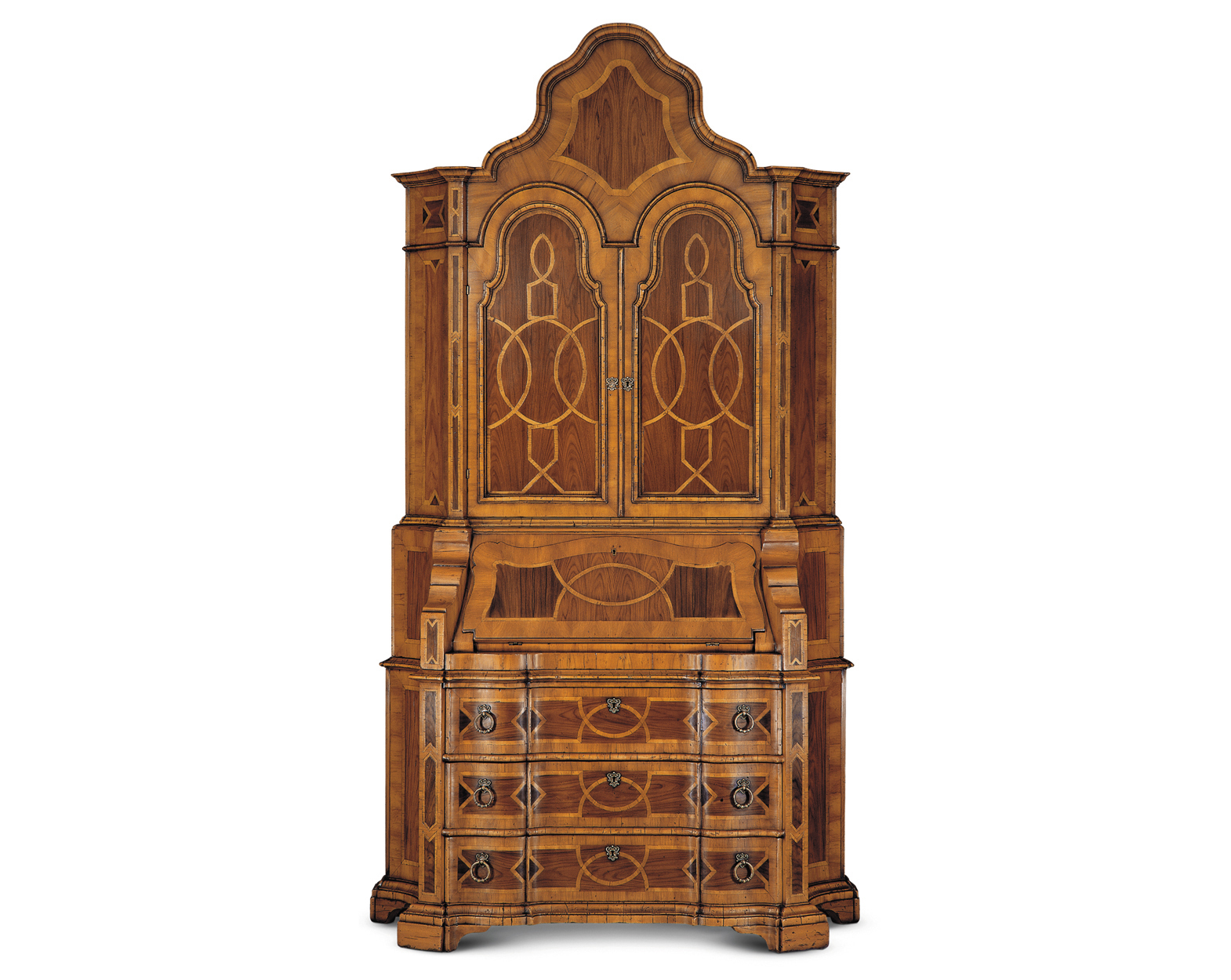 VENEERED ITALIAN SECRETAIRE