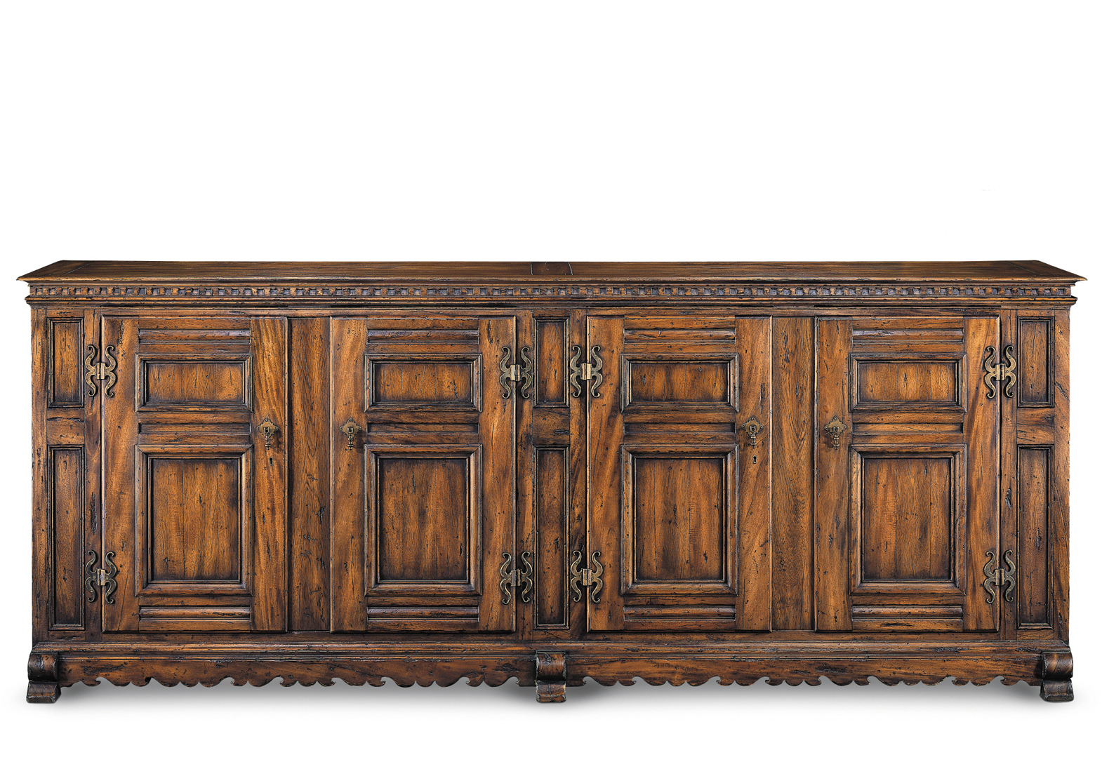 XVII TH CENTURY II BUFFET WITH 4 DOORS