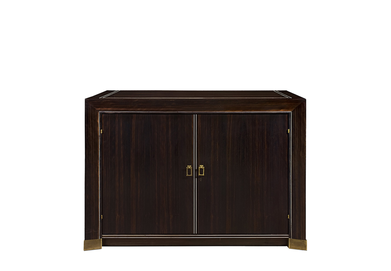 METZ EBONY BUFFET WITH 2 DOORS