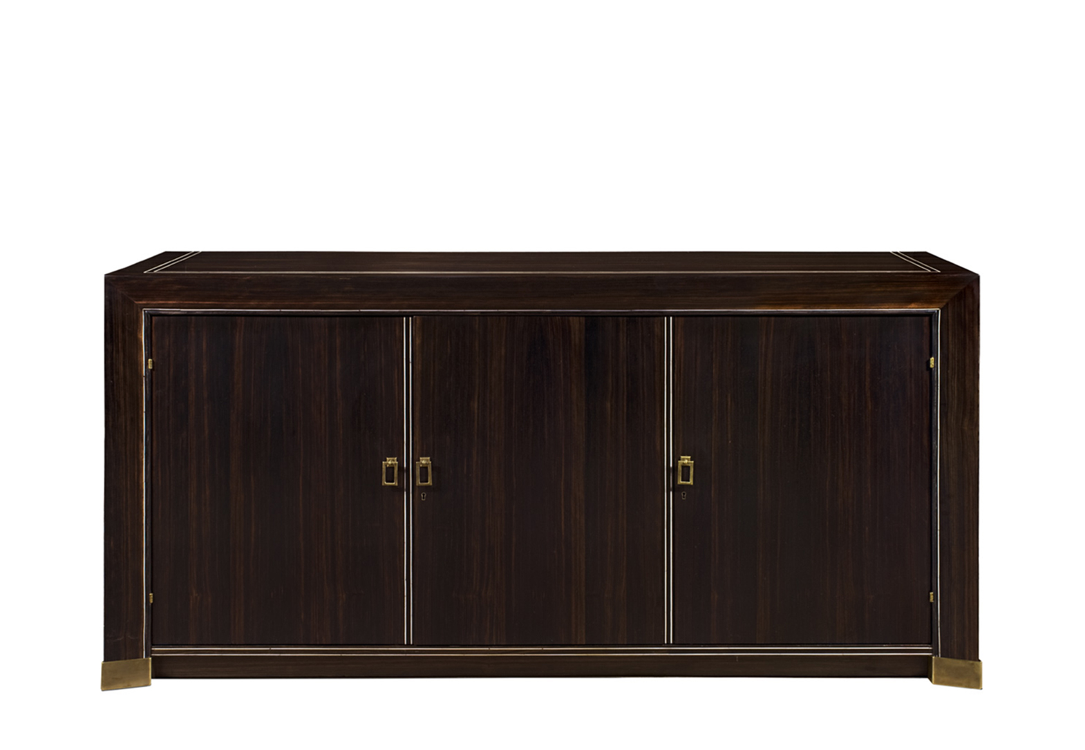 METZ EBONY BUFFET WITH 3 DOORS
