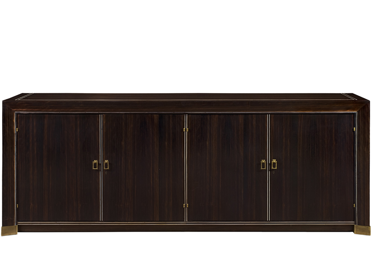METZ EBONY BUFFET WITH 4 DOORS