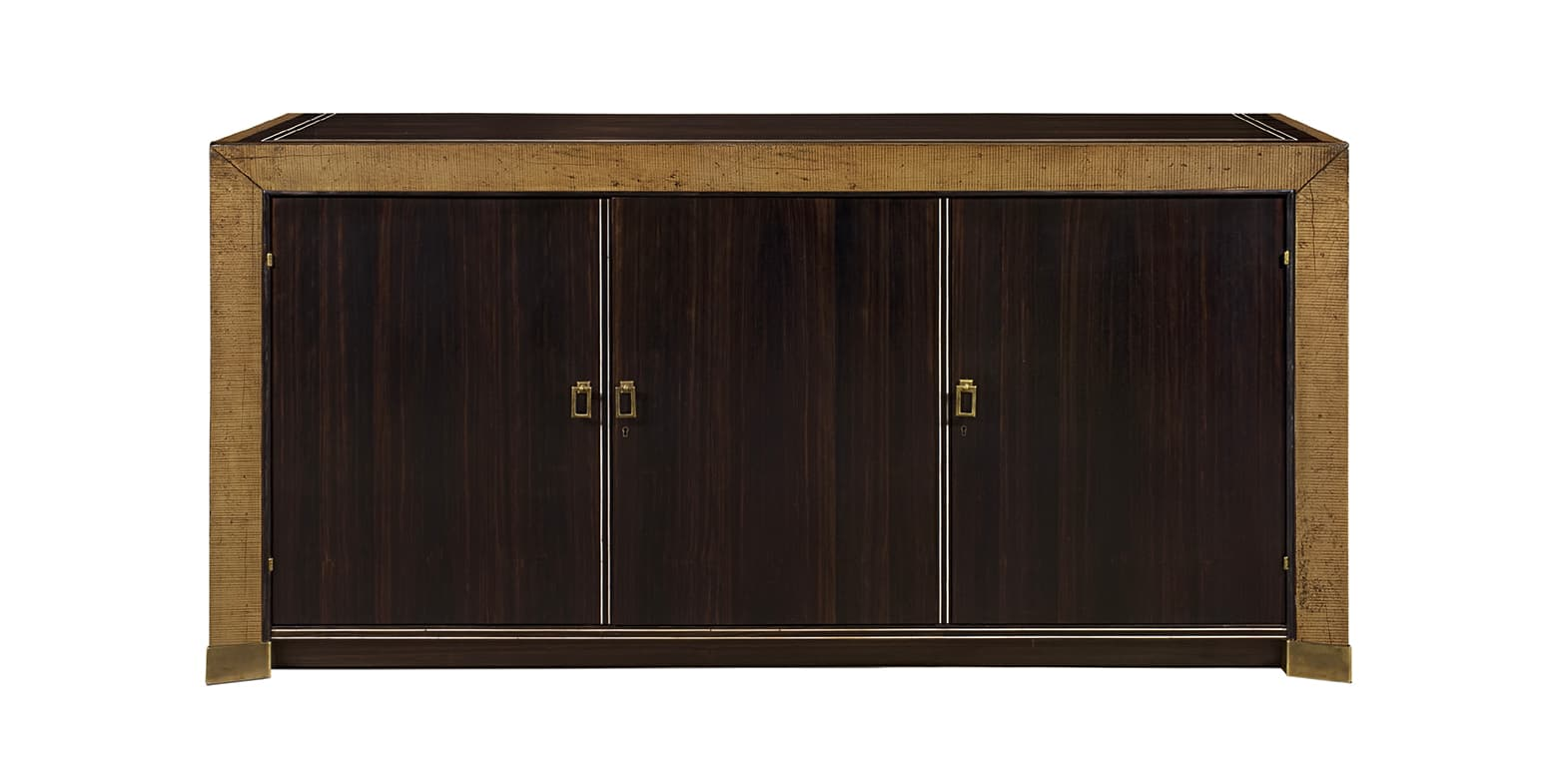 METZ GOLD BUFFET WITH 3 DOORS