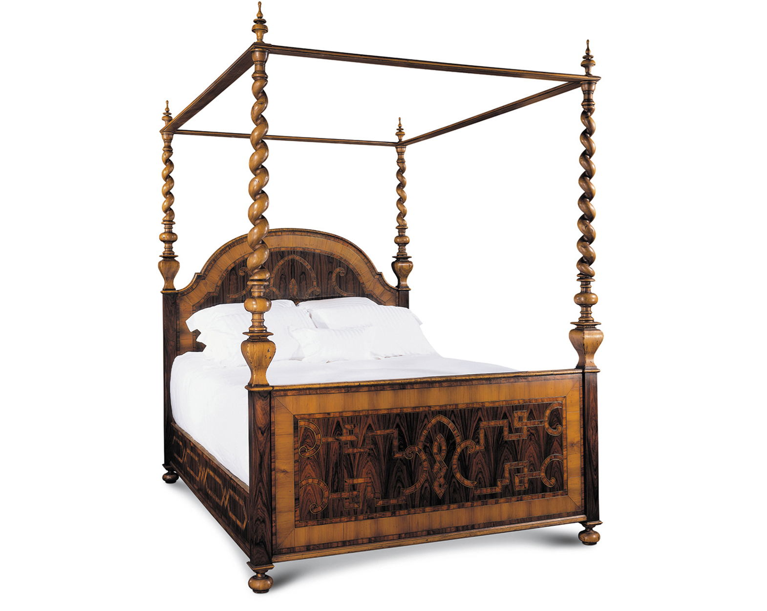 LOMBARDA BED WITH FOOTBOARD QUEEN