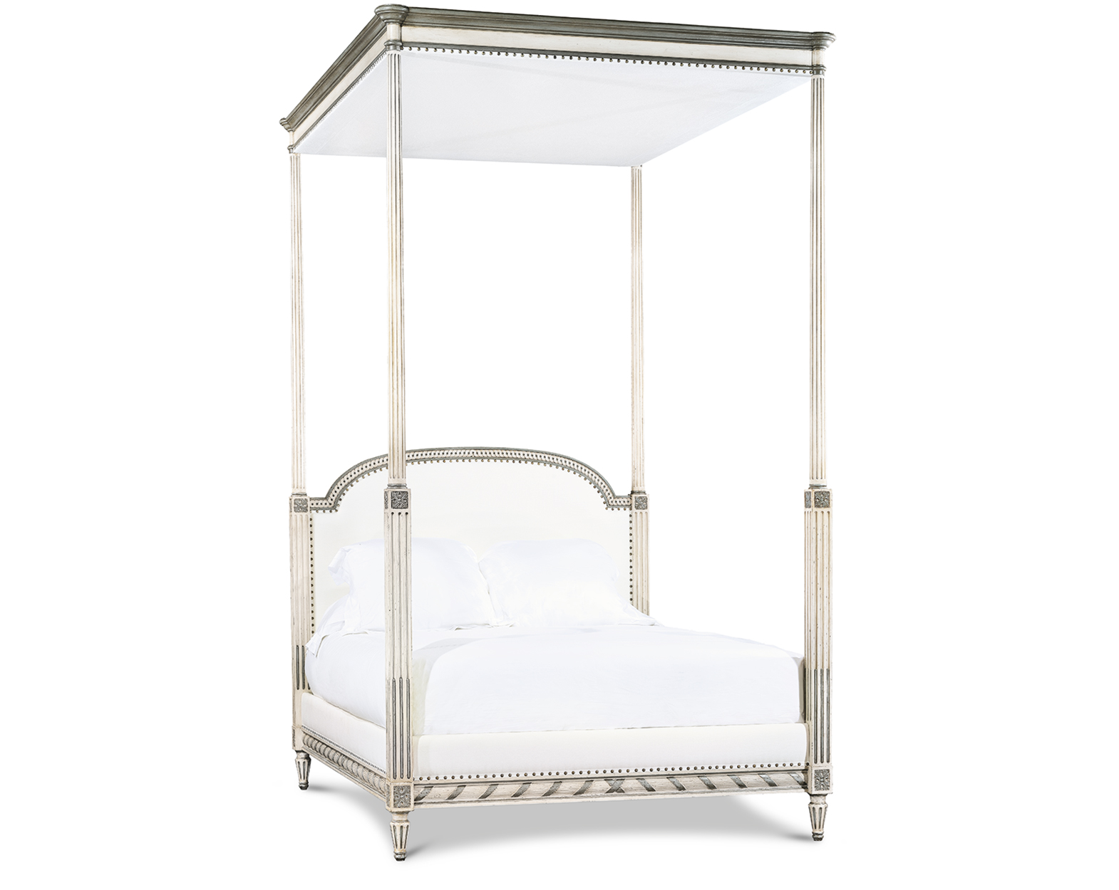 LOUIS XVI BED WITH CANOPY QUEEN
