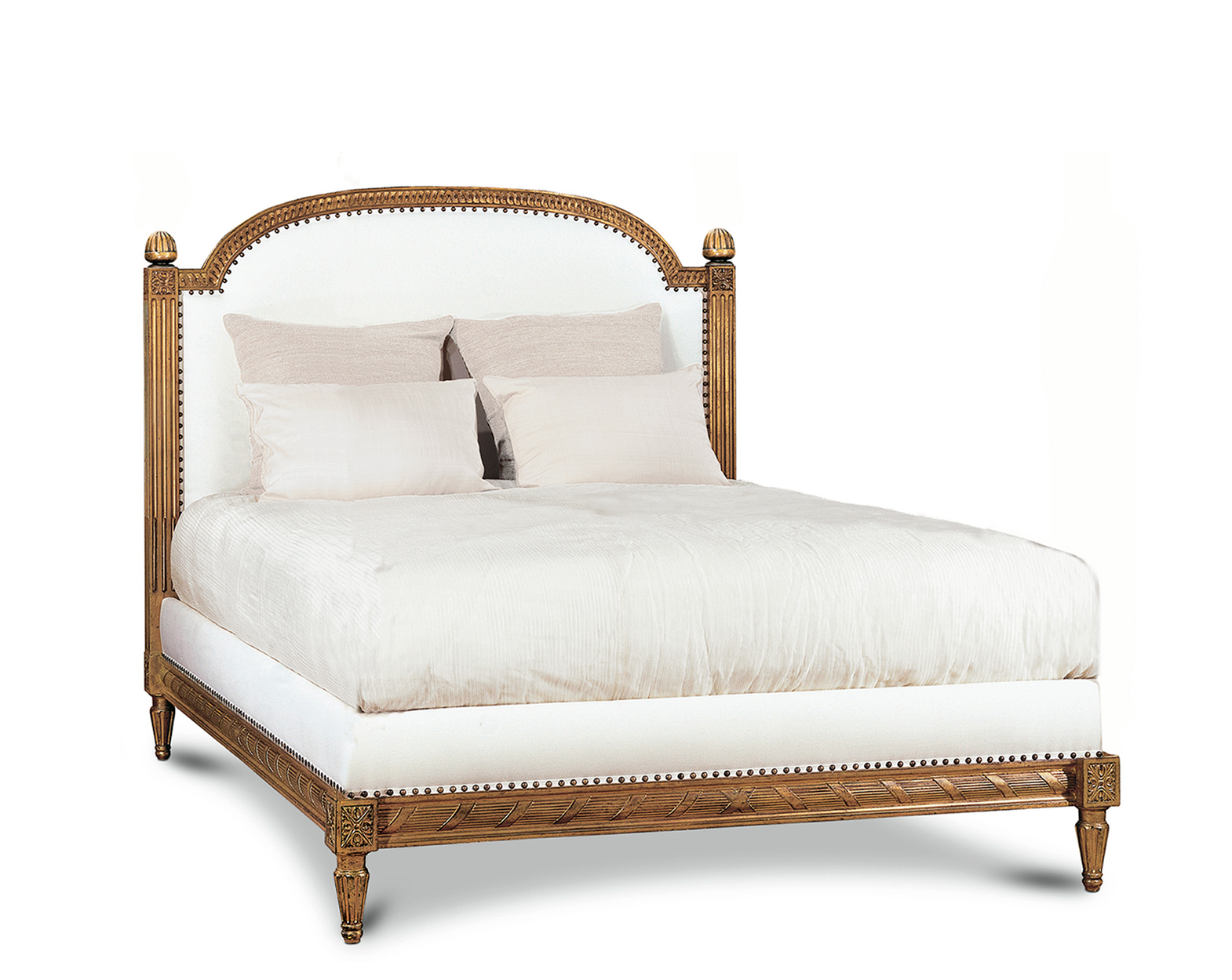 LOUIS XVI BED WITHOUT FOOTBOARD QUEEN