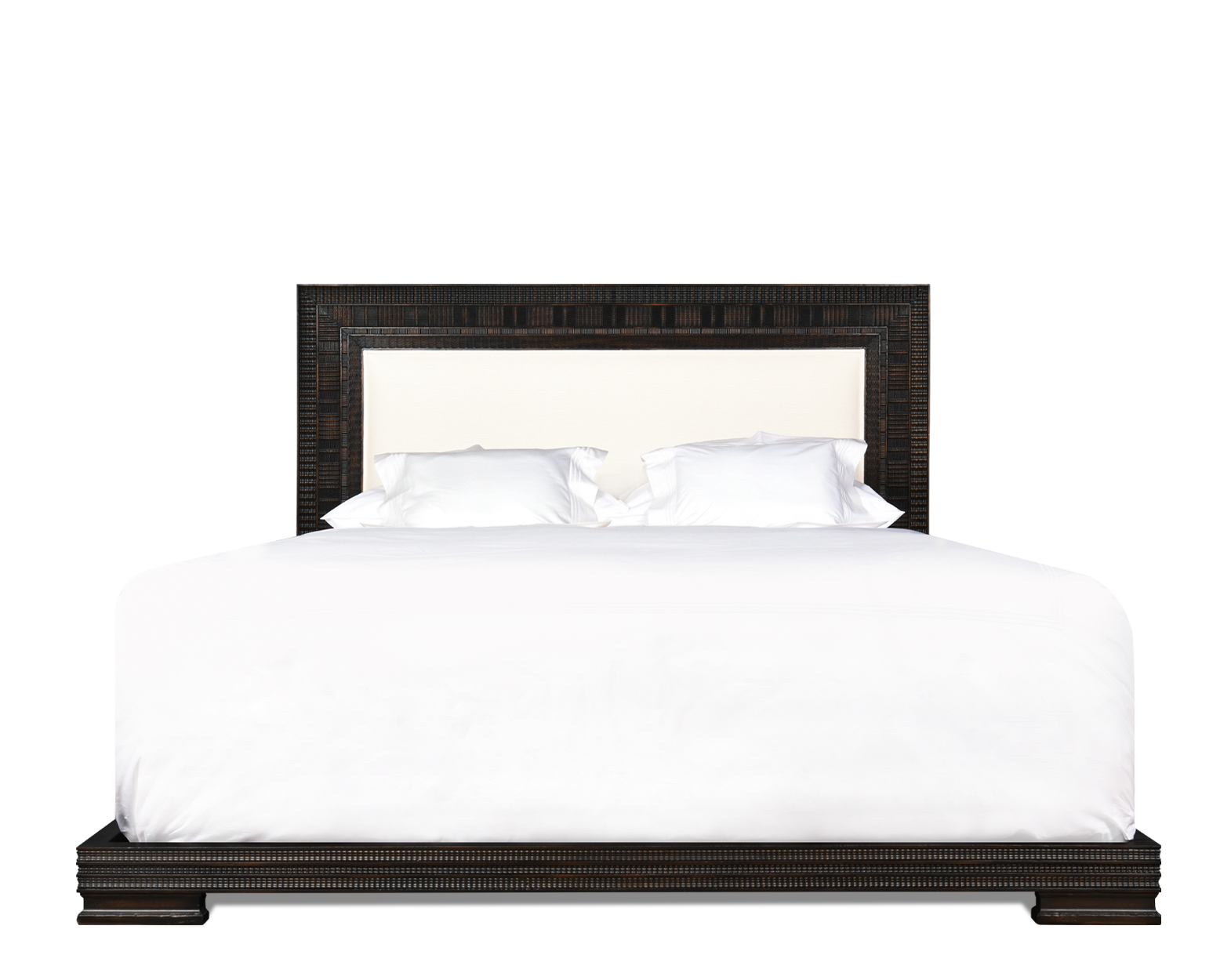 KAPELLE UPHOLSTERED LOW BED QUEEN