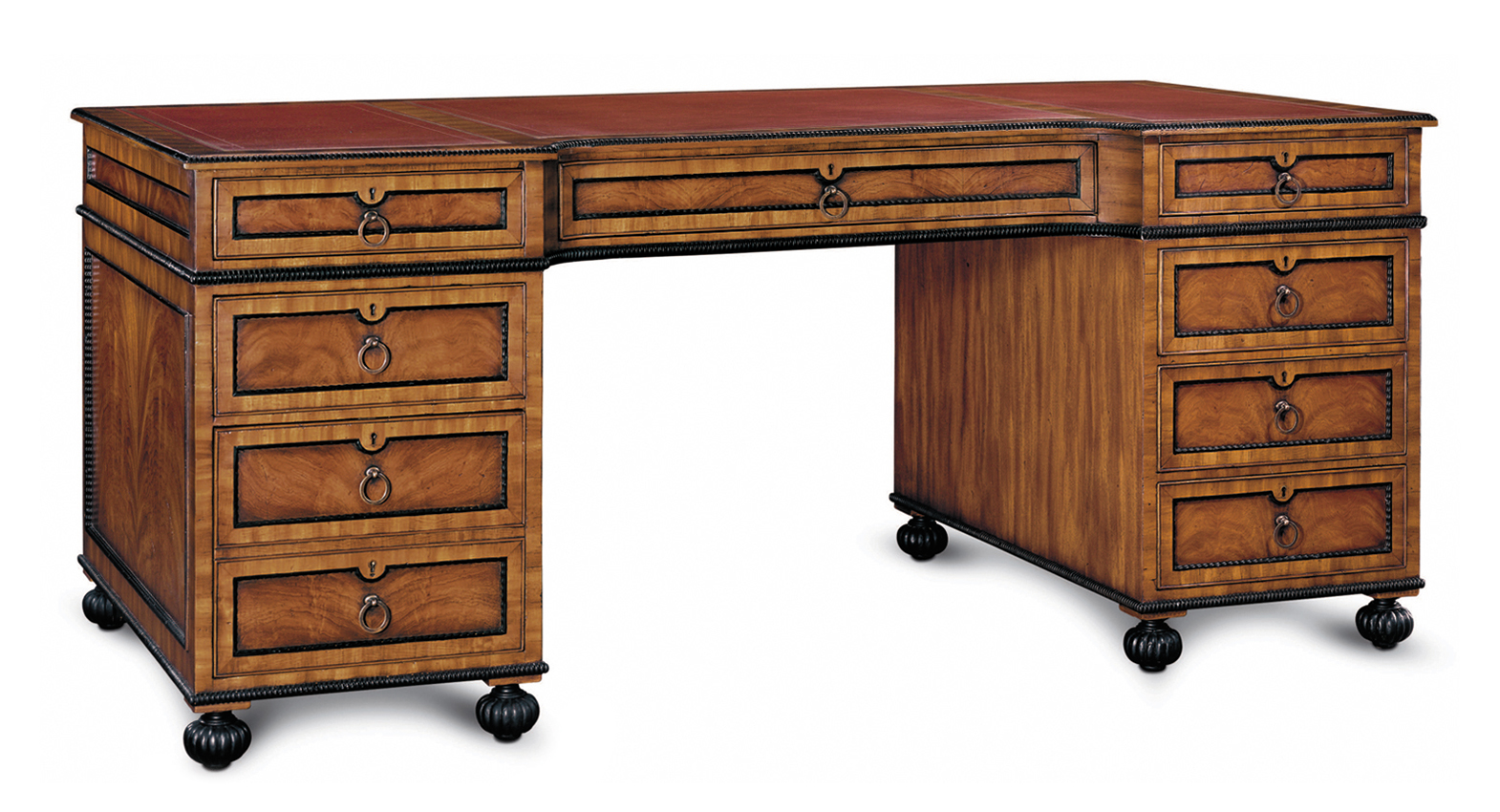 GEORGIAN EXECUTIVE DESK